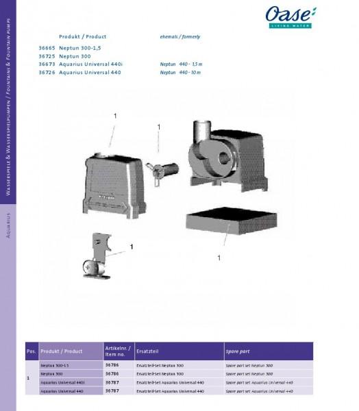 OASE Neptun 300 - 440