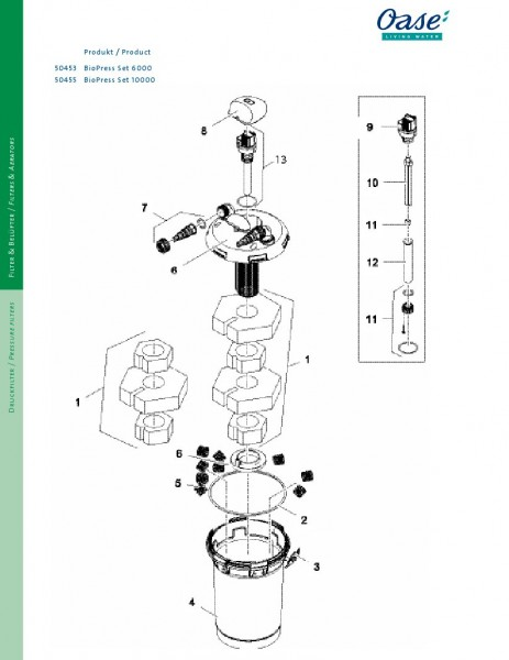 Oase BioPress Set 6000/10000