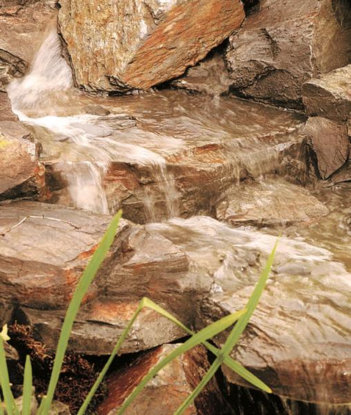 Bachläufe  - Teichbau und Dekoration