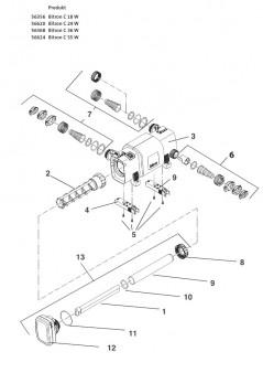 Oase Bitron 18 C / 24 C / 36 C / 55 C  - Ersatzteile