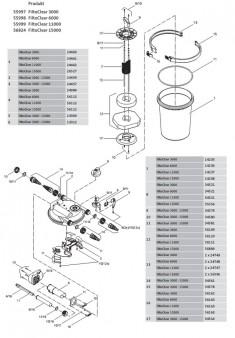 Oase Filtoclear 3000 / 6000 / 11000 / 15000