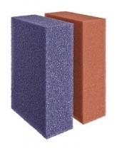 Ersatzschwamm Set Biotec 18/36 Rot/Violett (42894) ersatz für 56736