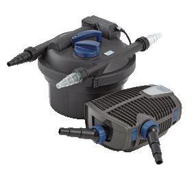 OASE Teichfilter Filtoclear 3000 Set + Aquamax ECO Premium Teichpumpe