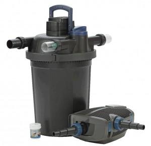 OASE Teichfilter Filtoclear 16000 Set + Aquamax ECO Premium Teichpumpe
