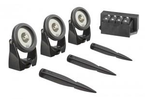 Oase LunAqua Power LED Set 3 Teichbeleuchtung