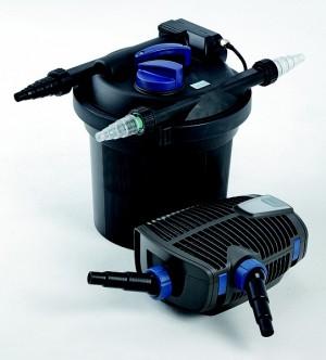 OASE Teichfilter Filtoclear 6000 Set + Aquamax ECO Premium Teichpumpe