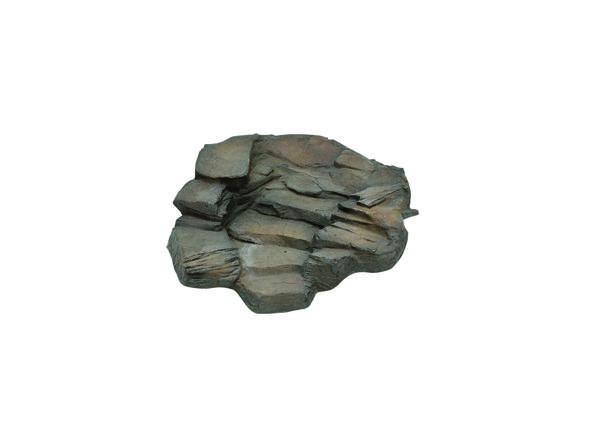 Staubbachfälle grau, Links