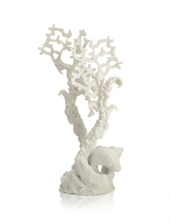 biOrb Fächerkorallen Ornament mittel weiß