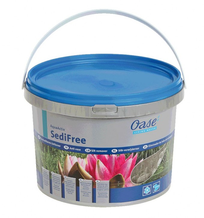 OASE AquaActiv SediFree 5 Liter Teichschlamm Entferner
