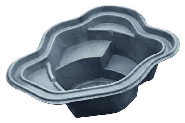 oase teichschale teichbecken gartenteich aral sea basalt. Black Bedroom Furniture Sets. Home Design Ideas