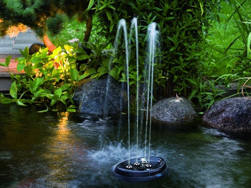 oase water starlet set, Garten seite