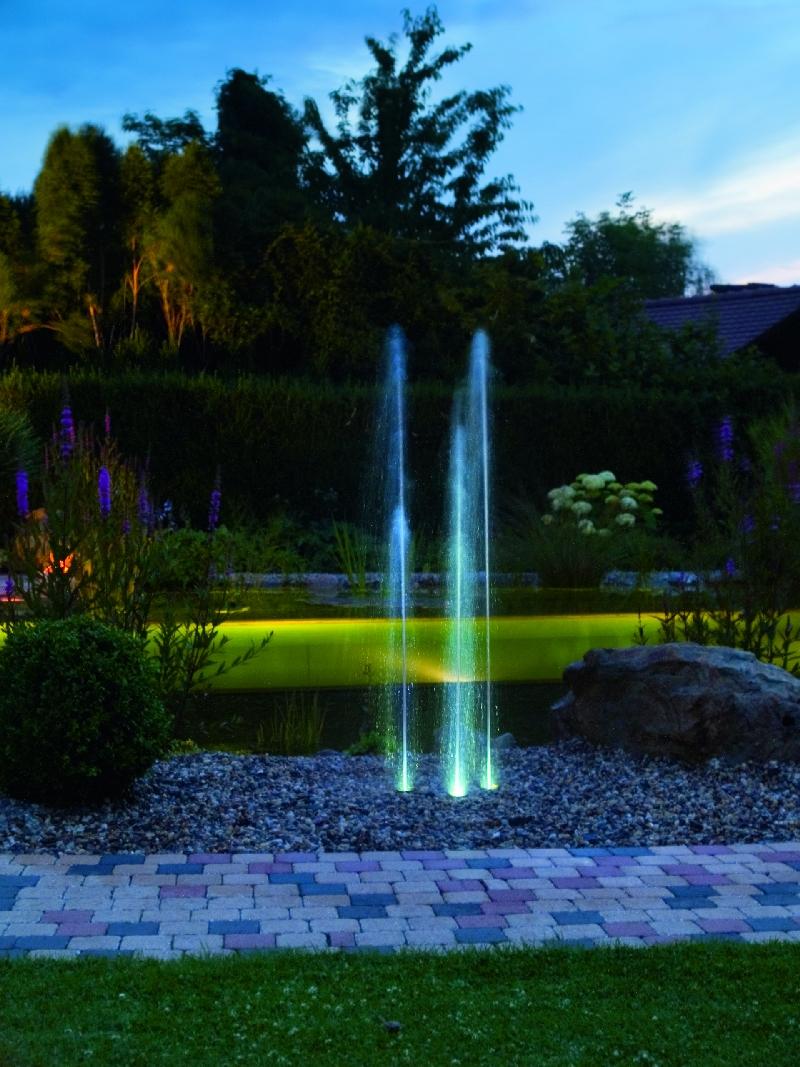 oase water trio wasserpiel set, Garten seite