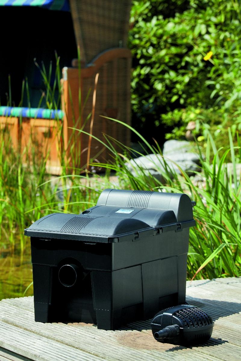 durchlauffilter oase biosmart 14000 set teichfilter. Black Bedroom Furniture Sets. Home Design Ideas
