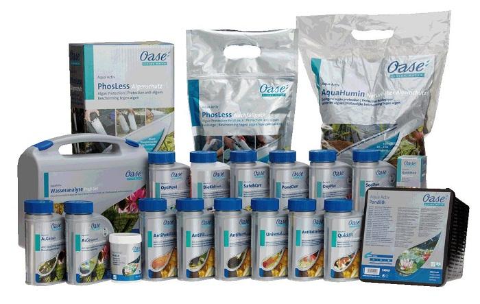 oase pflegemittel aquaactiv teichpflege. Black Bedroom Furniture Sets. Home Design Ideas