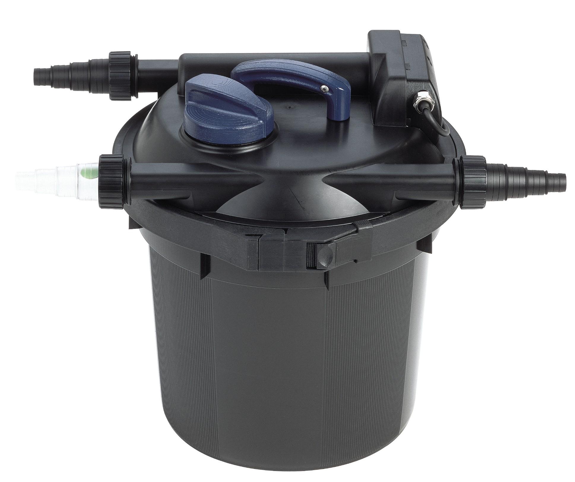 Oase filtoclear 6000 druckfilter 6qm 11 watt uvc for Oase teichpumpen shop