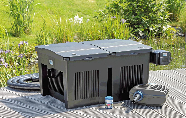 durchlauffilter oase biosmart 36000 set teichfilter 56789. Black Bedroom Furniture Sets. Home Design Ideas