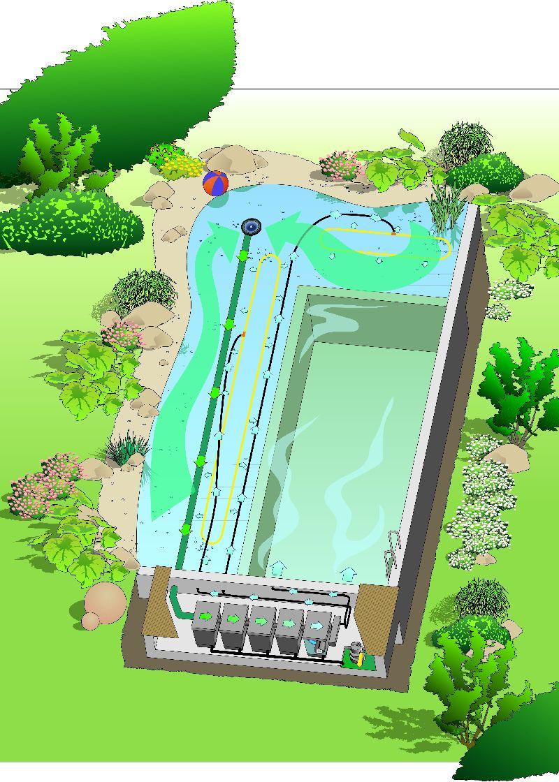 oase schwimmteich swimpond 32 mit folienverlegung. Black Bedroom Furniture Sets. Home Design Ideas