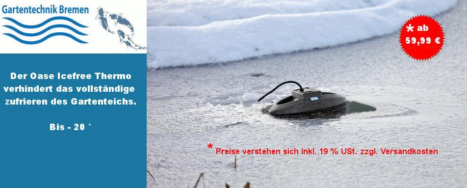 Icefree Thermo Teichheitzer - Teichheitzung