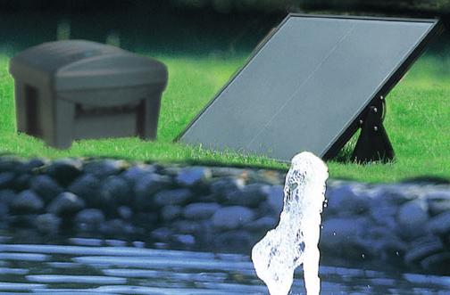 solar teichpumpen solartechnik von oase. Black Bedroom Furniture Sets. Home Design Ideas