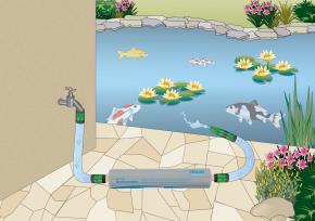Oase Dechlorinator - Leitungswasser aufbereiten